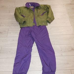 Vintage 2 pce sunice jacket ad pants